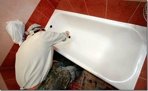 Как обновить акриловую ванну