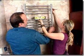 Как установить полотенцесушитель своими руками