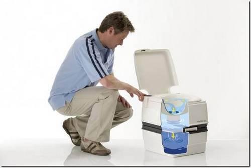 Как обслуживать биотуалет.