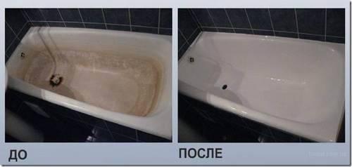 Как восстановить акриловое покрытие ванны?
