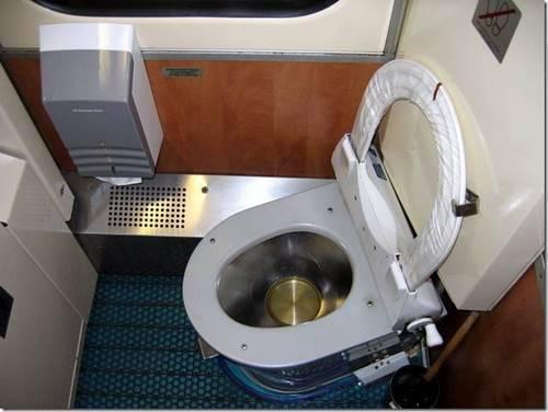 Как пользоваться биотуалетом в поезде
