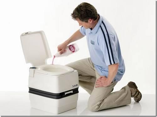 Как пользоваться жидкостью для биотуалетов.