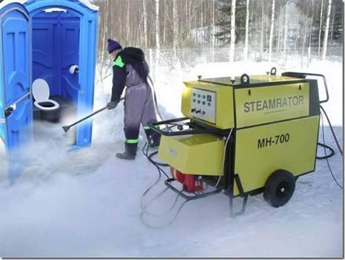 Как пользоваться биотуалетом зимой