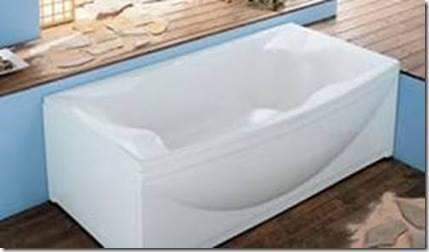 Как закрепить акриловую ванну