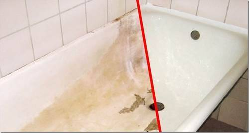 Как восстановить акриловую ванну?