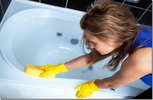 Как чистить душевую кабин
