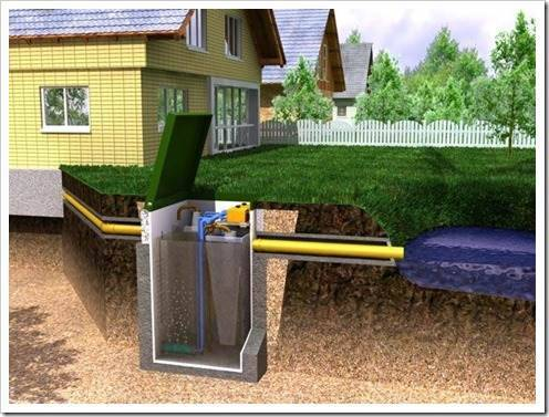Организация канализации без помощи профессионалов