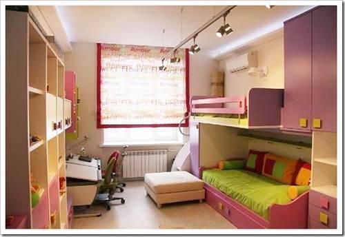 Комнаты для детей фэншуй