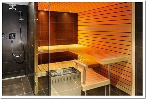 Параметры помещения под баню или сауну