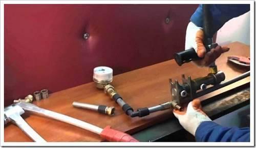 Наиболее безопасная схема разводки труб