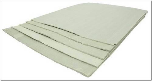 Теплоизоляционные материалы, содержащие асбестовые волокна