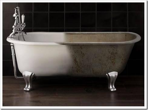 Лучший способ для реставрации старой ванны