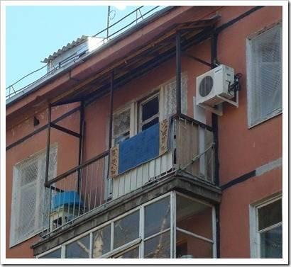 Как сделать крышу на балконе последнего этажа? лучшие стройм.