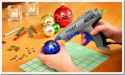 Герметизация при помощи клеевого пистолета