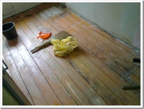 Старый деревянный пол: необходимость обновления