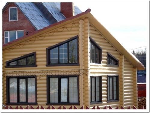 Компромисс в проектировании загородного жилья из дерева