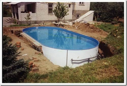 Объём воды и возможность обрушения