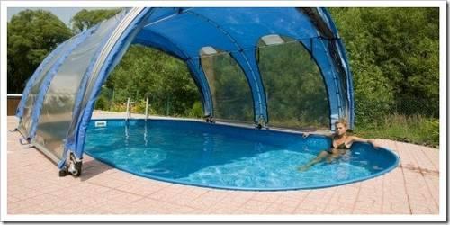 Каркасный бассейн: преимущества и недостатки