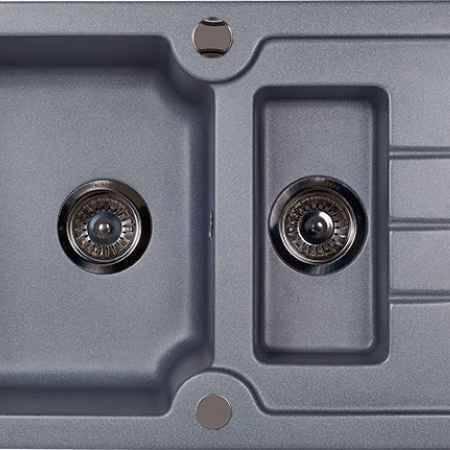Купить Kuppersberg Modena 1.5B1D серый металлик оборачиваемая