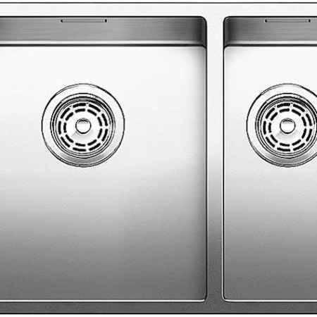 Купить Blanco Claron 517224 нержавеющая сталь полированная левая