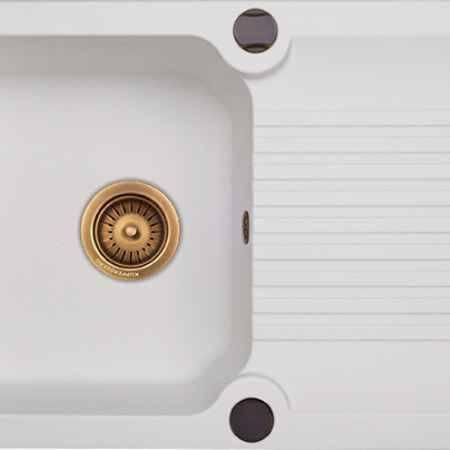 Купить Kuppersberg Ancona 1B1D белый алебастр оборачиваемая