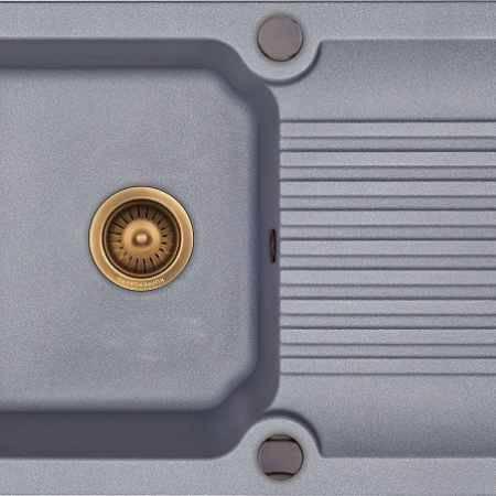 Купить Kuppersberg Ancona 1B1D серый металлик оборачиваемая
