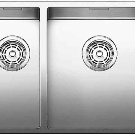 Купить Blanco Claron 517225 нержавеющая сталь полированная правая