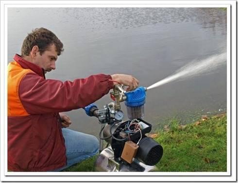 Проблема выкачки грязной воды