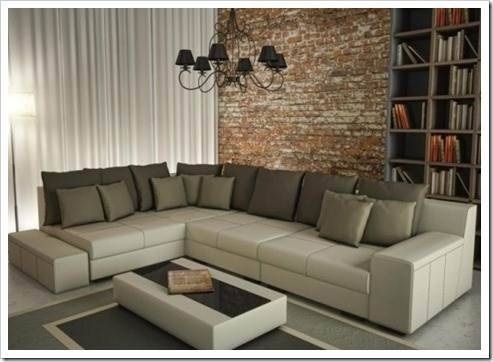 Материалы, используемые для создания модульных диванов