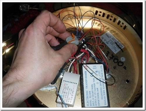 Контроллер освещения и кронштейн