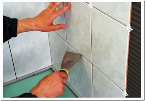 Технологический процесс укладки плитки на пол