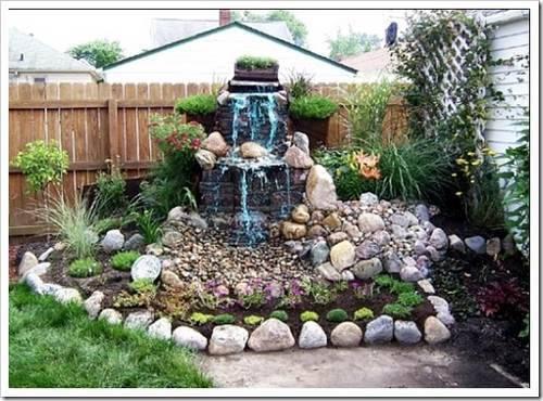 Возведение фонтана на приусадебном участке без помощи специалистов