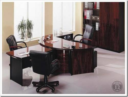 Состав комплекта мебели для руководителя