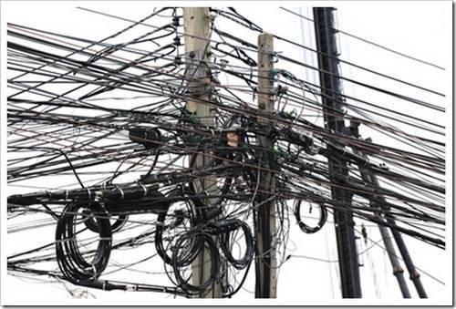Крепёж провода СИП