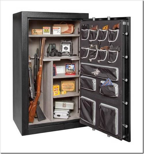 Монтаж сейфа при помощи существующих креплений