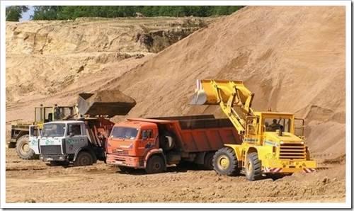 Классификация и применение песка