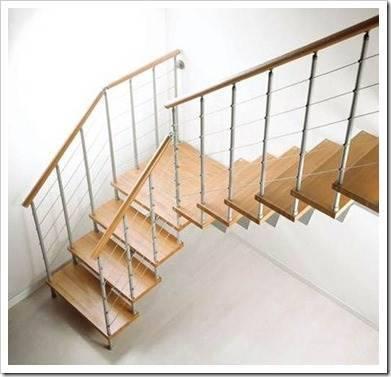 Лестницы, которые подходят для установки в загородных домах