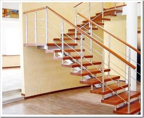 Преимущество использования лестницы на больцах