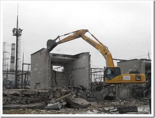 Цены на демонтаж зданий