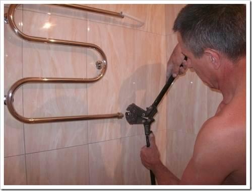 Что нужно для установки полотенцесушителя