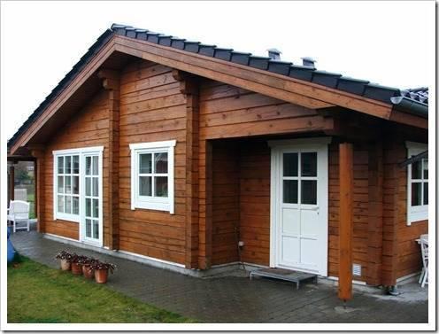 Этапы возведения деревянного дома из бруса
