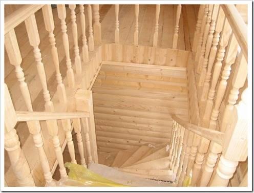 Методика окраски деревянной лестницы
