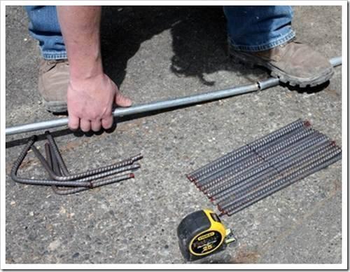 Отсутствие необходимости использования станков для гибки арматуры в быту