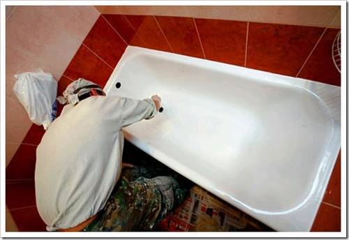 восстановления чугунных ванн