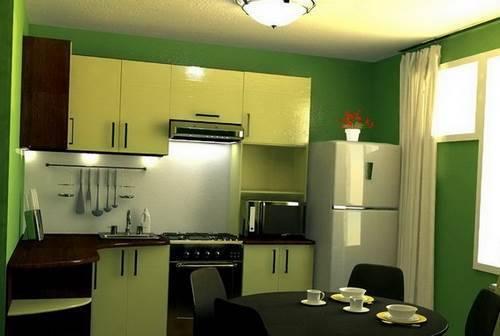 Идеи дизайна кухни 9 кв м