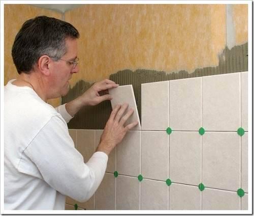 Подготовка поверхности стены под плитку