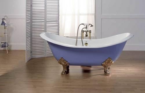 Как установить ножки на чугунную ванну