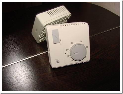 Нюансы установки термостата