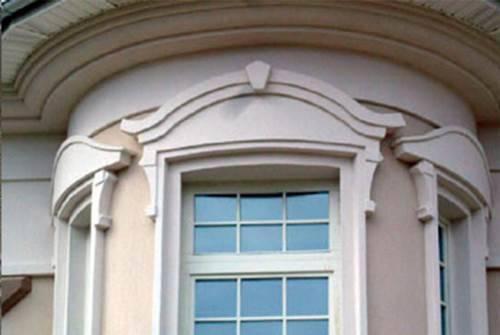 Декоративные элементы для отделки фасадов