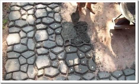 Методики создания тротуарной плитки